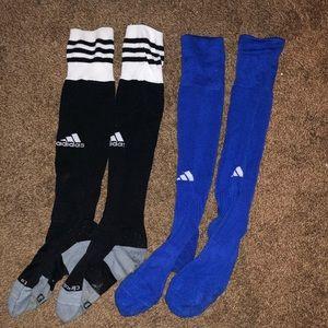 Bundle of adidas soccer socks